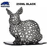 Wanhao Résine UV pour imprimante 3D 250ml, Noir , 1