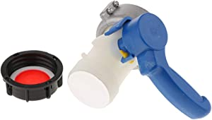 Ibc Water Tank Camlock Adaptor Ball Valve Acid Alkali Resistant Value 75Mm Pe Material