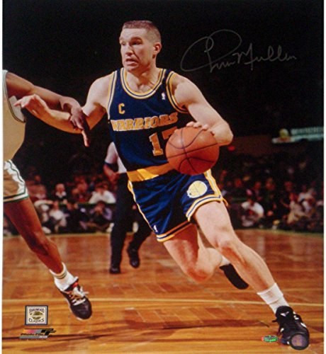 Chris Mullin Drive to Basket Left Handed Vertical 16x20 Photo
