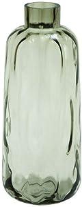 Jartop Grey Glass Vase Rustic
