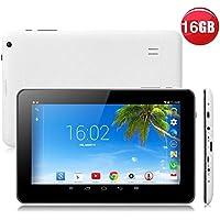 Tiptiper N98 9 Inch Android 4.4 Tablet PC Quad Core 1GB+16GB 800x480 US Plug White