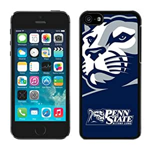 Beautiful Designed Case With Ncaa Big Ten Conference Football Penn State Nittany Lions 14 Black For iPhone 5C Phone Case