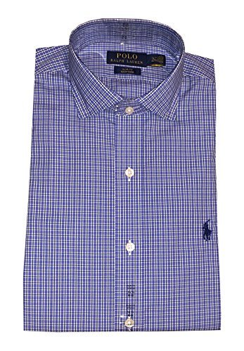 Ralph Lauren Polo Slim Fit Easy Care Pony Logo Shirt (XL(17.5 32/33), ()