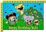 Ni Hao, Kai-Lan Personalized Birthday Party Edible Frosting Image 1/2 sheet Cake Topper