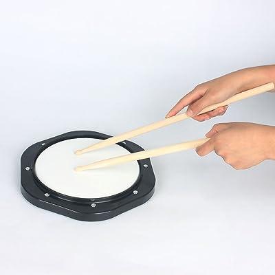Ammoon 10 Inch Drum Practice Pad