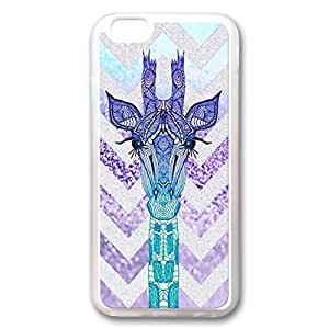 Andre-case ZENDOOP@ iPhone 6 4.7 case cover Transparent, Cute Fancy giraffe Chevon Colorful fKhAXU8Vmy0 Pattern Hard Back case cover Fit for iphone6 Inch