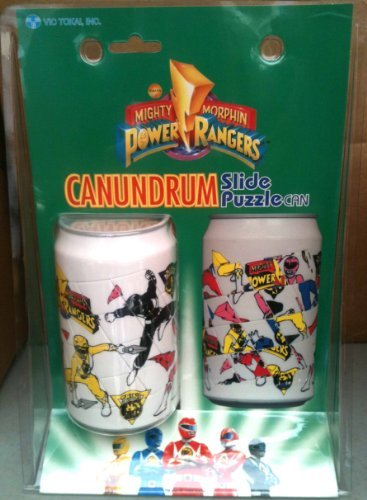 Mighty Morphin Power Rangers: Canundrum - Slide Puzzle can