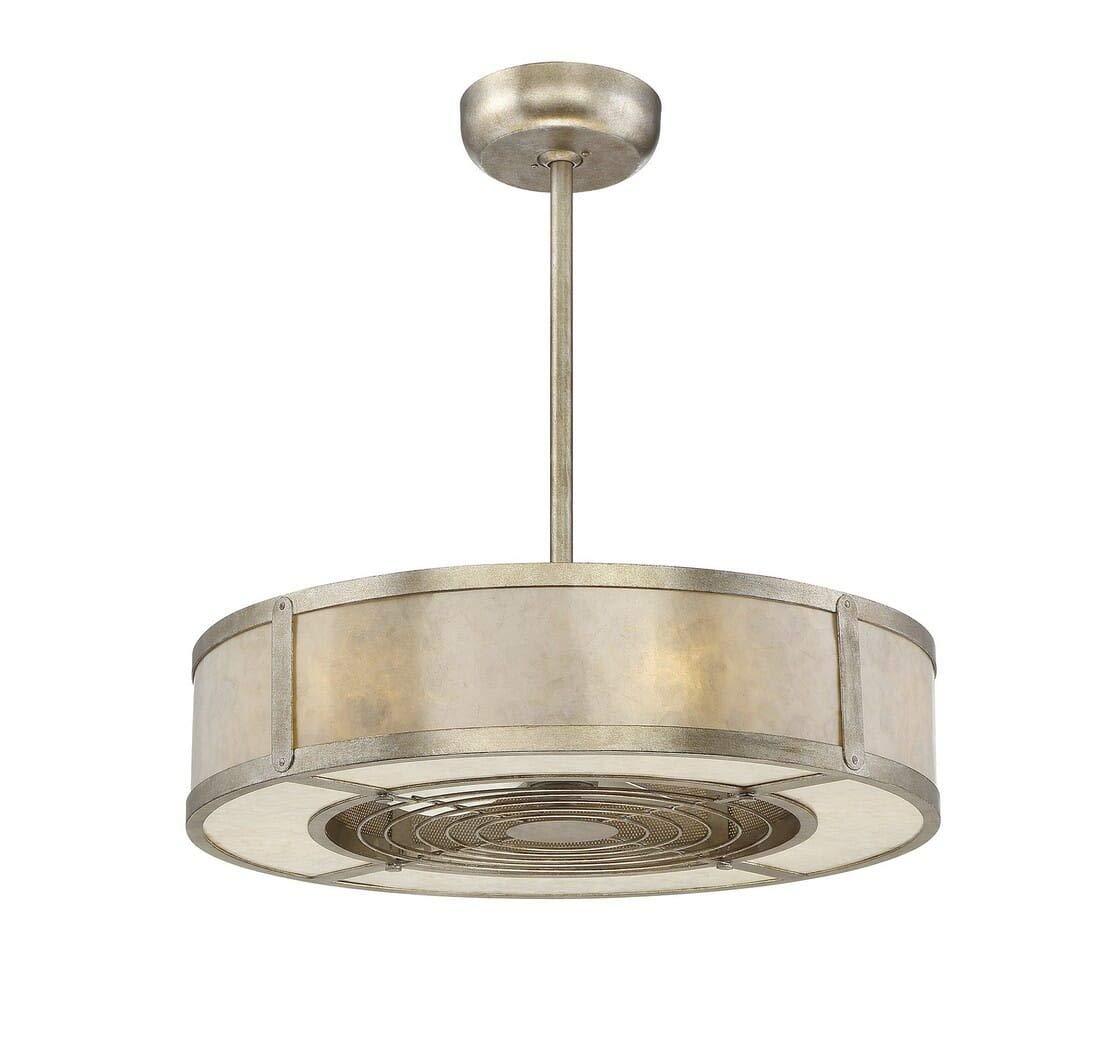 Savoy House 26-335-FD-272 Vireo 26 Air Ionizing Fan D lier in Silver Dust