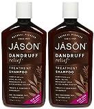 Jason Dandruff Relief Treatment Shampoo 12 fl oz (Set of 2)