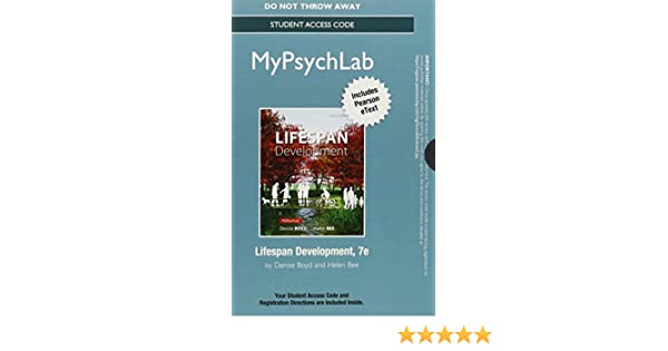 Amazon new mylab psychology with pearson etext standalone amazon new mylab psychology with pearson etext standalone access card for lifespan development 7th edition 9780133771718 denise boyd fandeluxe Image collections