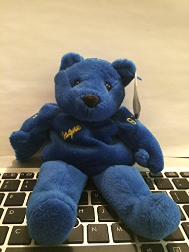 81cfe8db97f Salvino s Bammers Blue Plush Mini Teddy Bear Wayne Gretzky  99