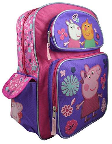 Peppa Pig Backpack Stamping Bookbag