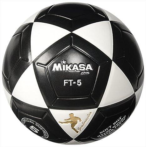 8abc538a7 Amazon.com : Mikasa FT5 Goal Master Soccer Ball (Size 5) (Black/White) :  Sports & Outdoors