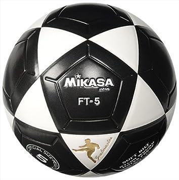 MIKASA FT5 Meta Maestro Pelota de fútbol (tamaño 5) (Negro/Blanco ...