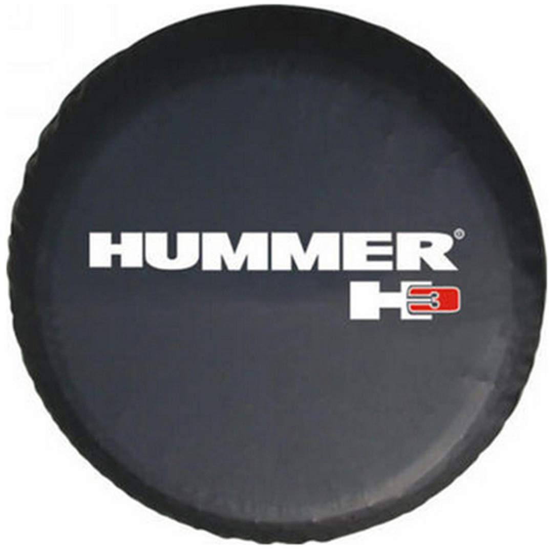 "16"" Car Styling Suitable For Compatible Hummer H3 Spare Tire Cover 16 Inch PVC Spare Wheel Cover 30""-31"""