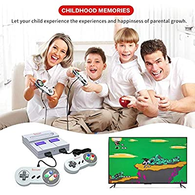 Bosszer HD 821 Retro Game Console, HDMI HD Output SNES Childhood Classic Game Built-in Hundreds of Video Games System: Toys & Games