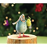 Patience Brewster 12 Days - Day 1 Mini Partridge Christmas Ornament 08-30636