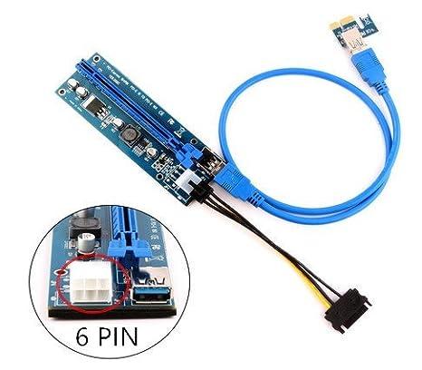 Bulletproof minería dedicada tarjeta gráfica PCIe ver 006 C ...