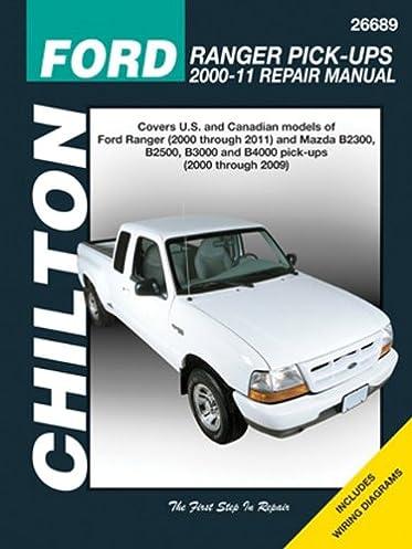 chilton total car care ford ranger pick ups 2000 2011 mazda b rh amazon com Mazda Rotary Engine Problems Mazda B Series 5 0 Swap