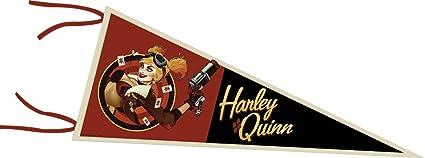 DC Bombshells HARLEY QUINN Pennant