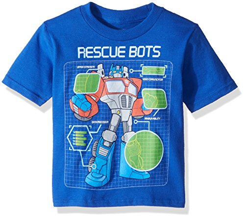 Transformers Boys' Toddler Rescue Bots, Royal, 4T ()