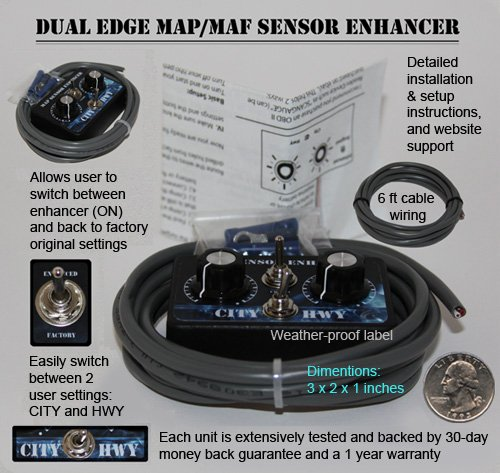 Dual Edge MAP / MAF Sensor Enhancer HHO Water4Gas EFIE
