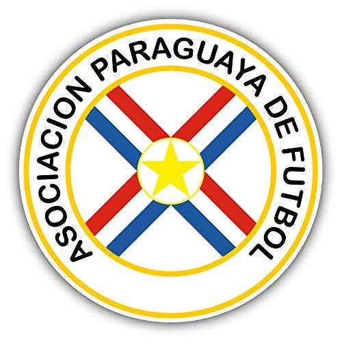 Paraguay National Soccer Team (Paraguay National Team Soccer Football Art Decor Vinyl Sticker 5'' X 5'')