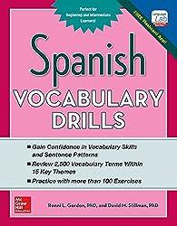 Spanish Vocabulary Drills (Grammar Drills)