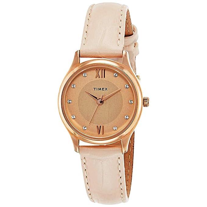 TIMEX Analog Rose women Watch TW00ZR270E Women's Wrist Watches