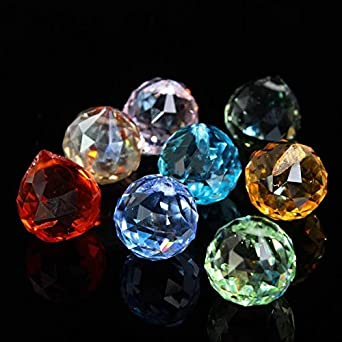 Colourful Crystal Ball for Chandelier