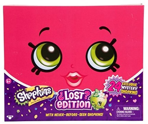 Shopkins Lost Edition Set 24 Exclusive Mystery Shopkins Neve