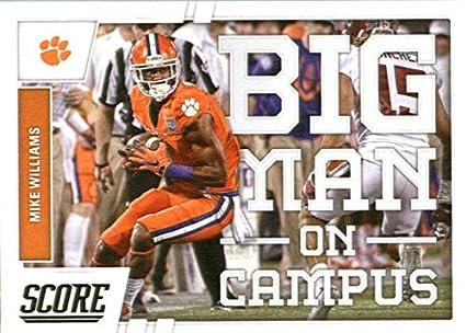 promo code 9945b 1f9ae Amazon.com: 2017 Score Big Man on Campus #12 Mike Williams ...