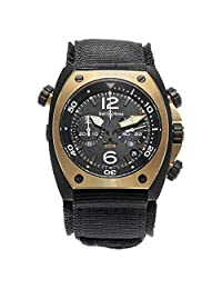 Bell & Ross BR 02 Automatic-self-Wind Male Watch BR02-CHR (Certified Pre-Owned)