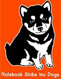 Notebook Shiba Inu Dogs: size 8.5 x 11