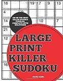 Killer Sudoku Large Print, Clarity Media, 1495398951