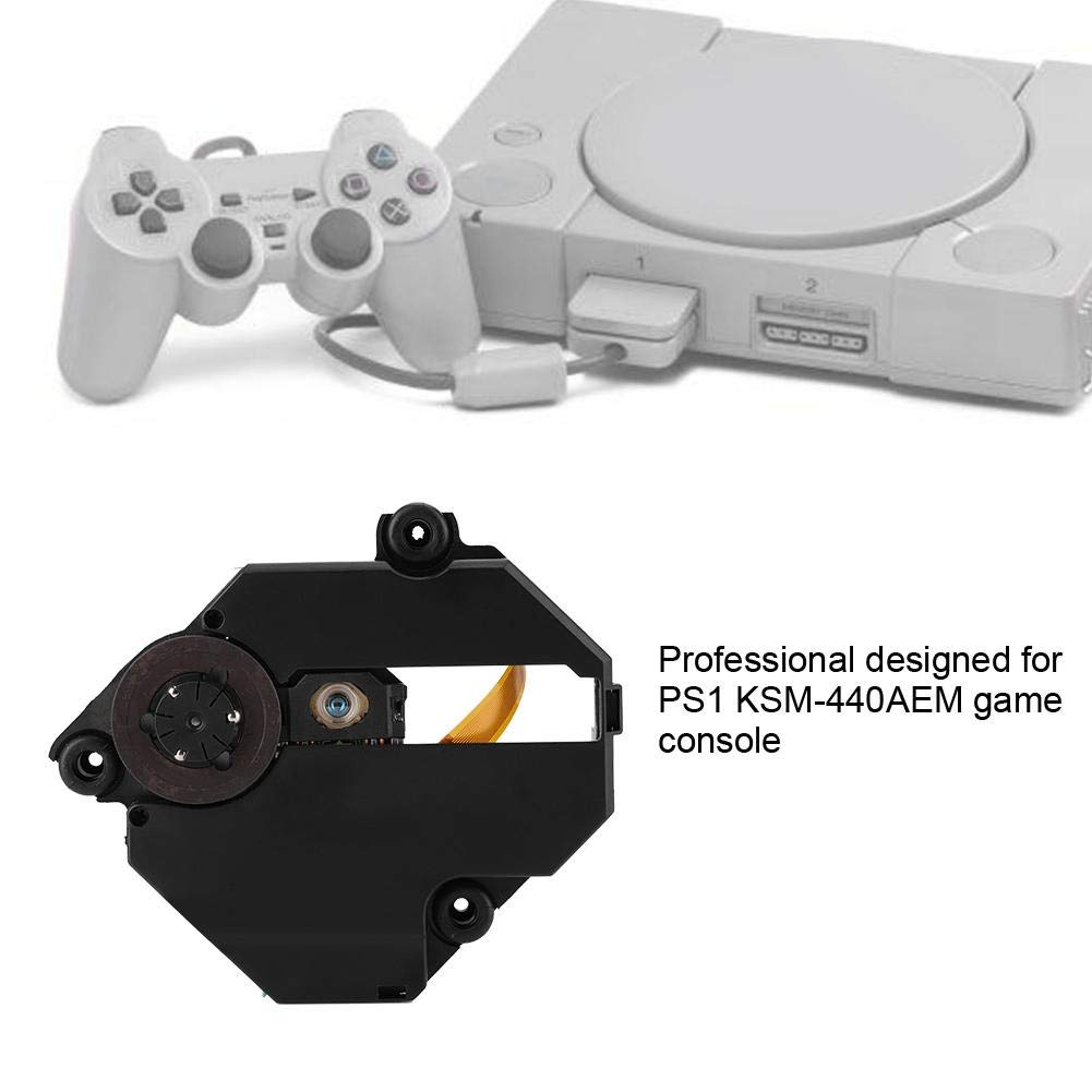 KSM-440AEM Optical Laser Lens Drive Replacement Laser Lens for PS1 KSM-440AEM Game Console High Precision and Accuracy Professional Designed