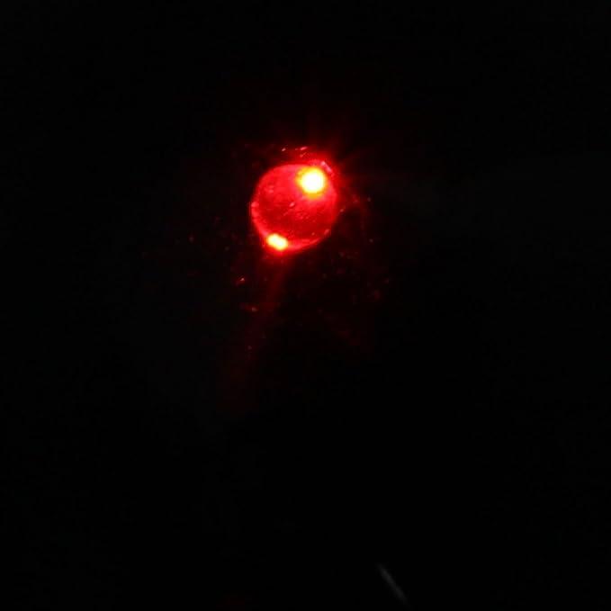 Amazon.com: eDealMax falso Cámaras de seguridad simuladas w Detector de movimiento de la luz que destella LED Rojo: Electronics