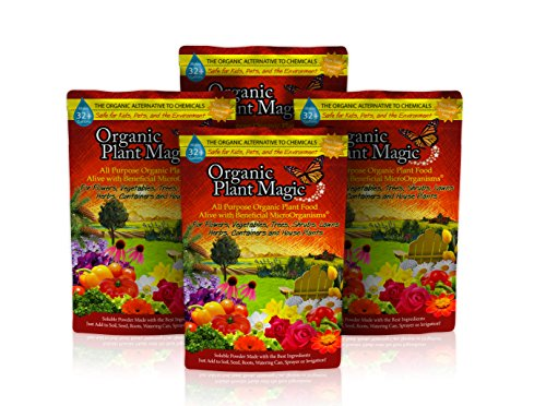 Plant Magic Plant Food 100% Organic Fertilizer - Easy to Use All Purpose for Indoor Houseplants, Outdoor Flowers, Tomatoes and All Vegetables and Trees (Also Known as Instant Compost Tea) (2 lbs)