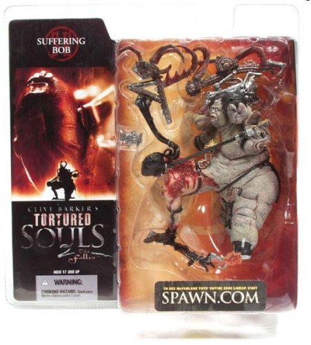 787926178142 McFarlane Toys Clive Barkers Tortured Souls 2 The Fallen Action Figure Suffer..