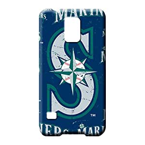 samsung galaxy s5 Shock Absorbing Bumper New Snap-on case cover phone back shells seattle mariners mlb baseball