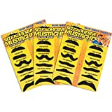 Blue Ridge Novelty Fake Mustache Novelty and Toy, Pack of 36 Mustaches (Discontinued by manufacturer)