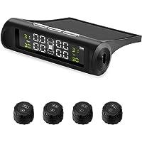 Car TPMS Solar Wireless Tire Pressure Alarm Sensor energy Display