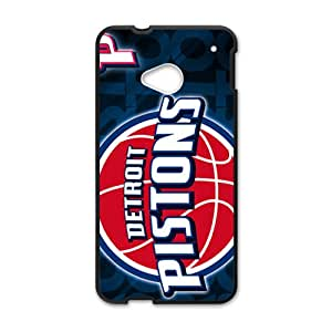Detroit Pistons Bestselling Hot Seller High Quality Case Cove Hard Case For HTC M7