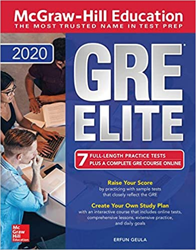 McGraw-Hill Education GRE Elite 2020