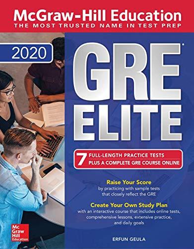 Pdf Test Preparation McGraw-Hill Education GRE Elite 2020