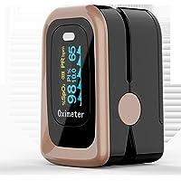 Medical Portable digital OLED Finger Pulse Oximeter Blood Oxygen Saturation Monitor Health Care measure