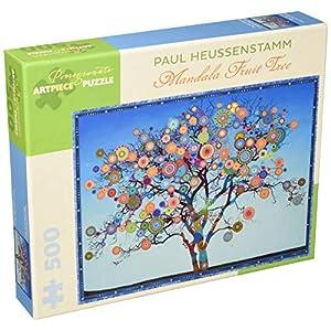 Paul Heussenstamm Mandala Fruit Tree 500 Piece Jigsaw Puzzle