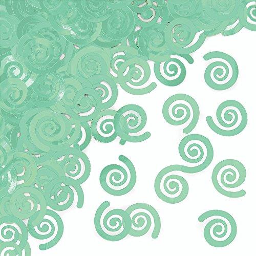 Creative Converting 324501 Confetti, Green