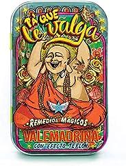 Pa´Que Le Valga - Pastillero Remedios Mágicos de Hojalata con Dulce del Poder Buena Vibra Sabor Piña 50 g.