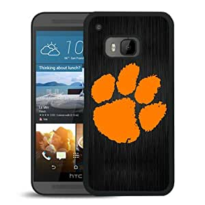 Unique And Popular HTC ONE M9 Case ,Clemson Tigers Black HTC ONE M9 Screen Cover Beautiful Designed